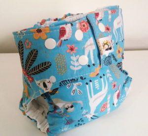 Fralda diurna Selva- Belinha Baby - acompanha absorvente