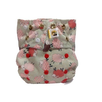 Fralda em pull Ovelhas - Belinha Baby