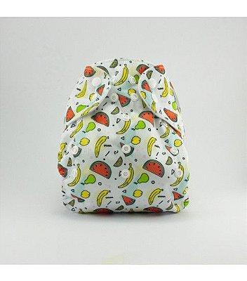 Fralda de Piscina Frutas - Nós e o Davi