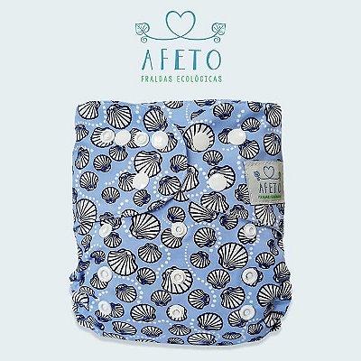 Conchas  - Afeto - Acompanha absorvente de meltom 6 camadas