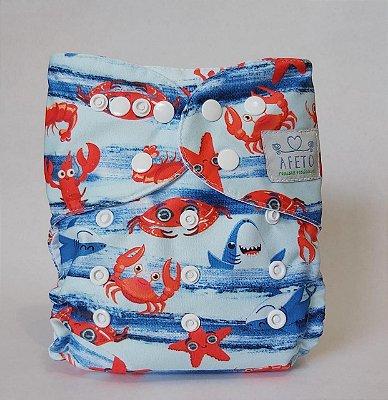 Caranguejo  - Afeto - Acompanha absorvente de meltom 6 camadas