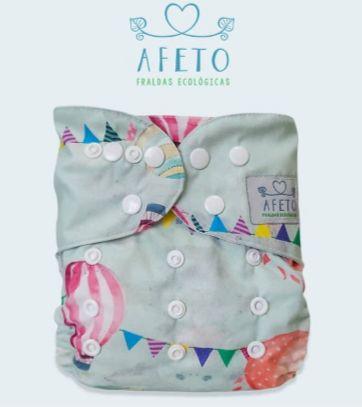 Balões  - Afeto - Acompanha absorvente de meltom 6 camadas