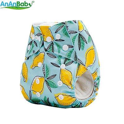 Fralda Limões em Pull - Ananbaby