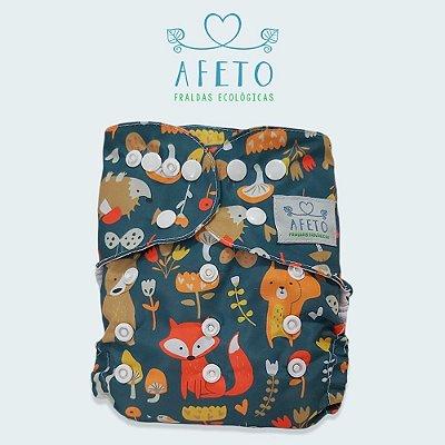 Raposas  - Afeto - Acompanha absorvente de meltom 6 camadas