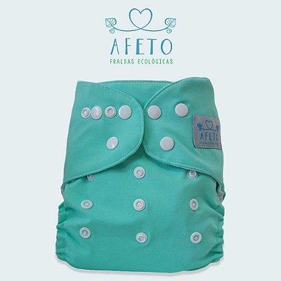 Azul Piscina  - Afeto - Acompanha absorvente de meltom 6 camadas