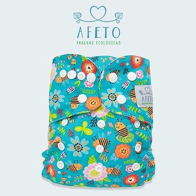 Abelhas  - Afeto - Acompanha absorvente de meltom 6 camadas