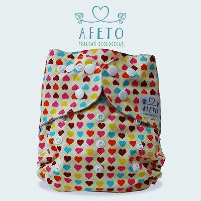 Amor  - Afeto - Acompanha absorvente de meltom 6 camadas