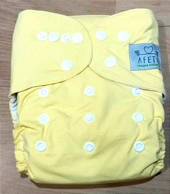 Amarelinha  - Afeto - Acompanha absorvente de meltom 6 camadas
