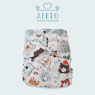 Ursinhos Coloridos - Afeto - Acompanha absorvente de meltom 6 camadas