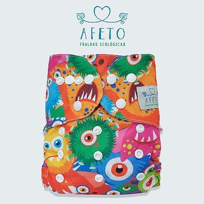 Monstros  - Afeto - Acompanha absorvente de meltom 6 camadas