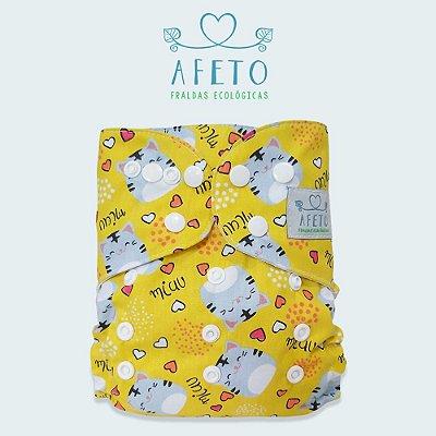 Miau  - Afeto - Acompanha absorvente de meltom 6 camadas