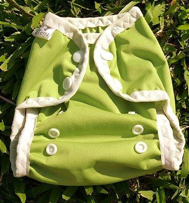 Fralda Verde Recém Nascido - Fio da Terra