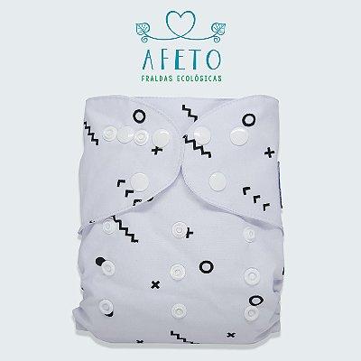 Minimalista  - Afeto - Acompanha absorvente de meltom 6 camadas