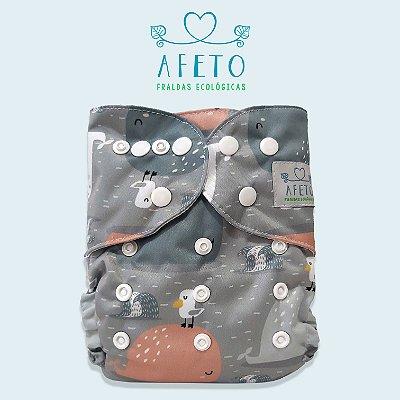 Baleias - Afeto - Pull - Acompanha absorvente de meltom 6 camadas.