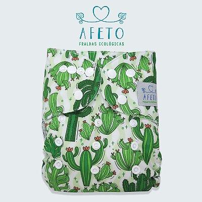 Cactos - Afeto - Pull - Acompanha absorvente de meltom 6 camadas.