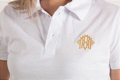 Camiseta Polo MMMV Branca