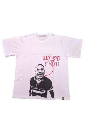 Camiseta Torresmo é Vida Branca