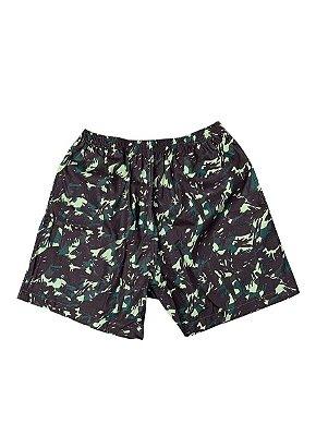 Shorts Camuflado Verde
