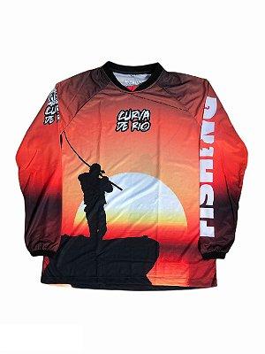 Camisa Pesca Curva de Rio SUNSET