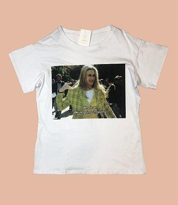 Camiseta GRINGA.COM Fem GO TO THE SHOPPING - TAM M