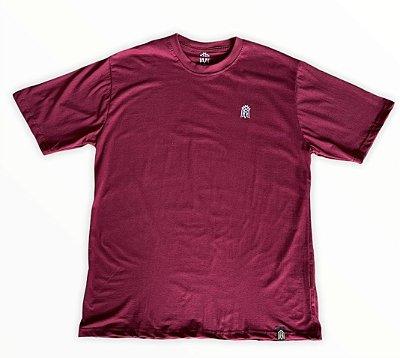 Camiseta Vinho MMMV Bordado