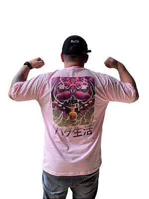 Camiseta PUG LOKO ROSA MMMV