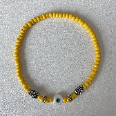 Tornozeleira Amarela
