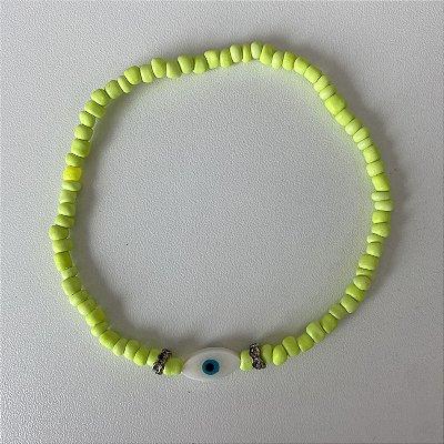 Tornozeleira Verde Olho Grego