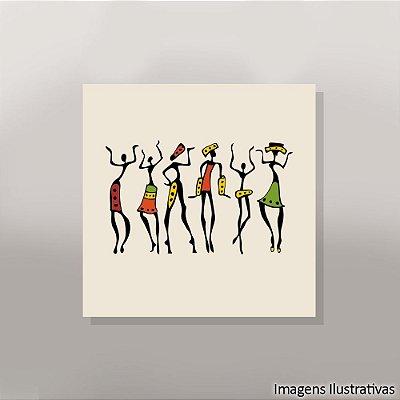 Quadro Decorativo Afro
