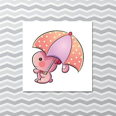 Quadro Decorativo Infantil Coelhinho