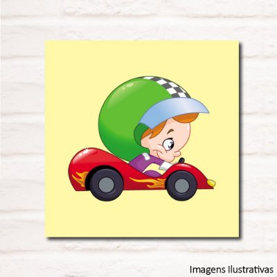 Quadro Decorativo Infantil Piloto