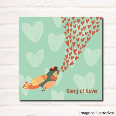 Quadro Infantil Song Of Love