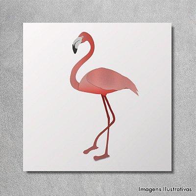 Quadro Infantil Flamingo