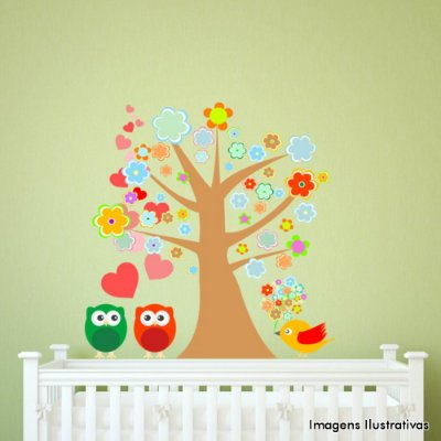Adesivo de Parede Infantil Árvore