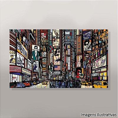 Quadro Decorativo Urbano Colorido 2