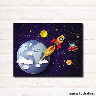Quadro Decorativo Infantil Espaço