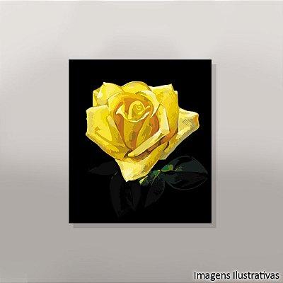 Quadro Decorativo Flor Amarela