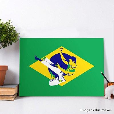 Quadro Decorativo Capoeira