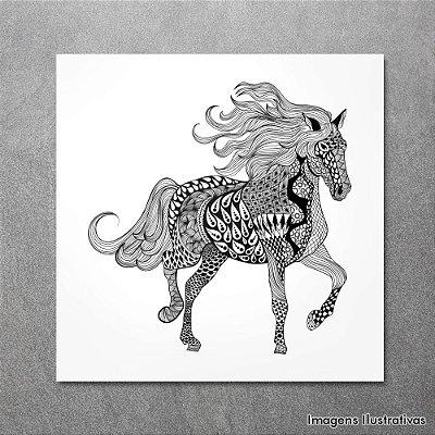Quadro Infantil Cavalo