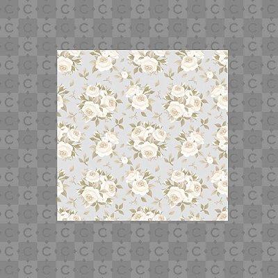 Papel de Parede Texturizado Autocolante Floral Lilas 2