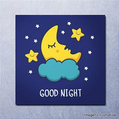 Quadro Infantil Boa Noite - Good Night