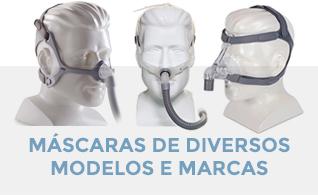 Máscaras CPAP, BIPAP