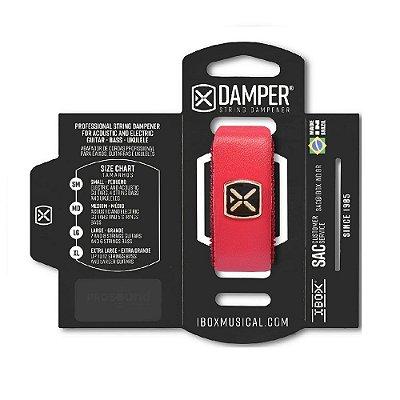 Damper IBOX Couro MD Vermelho