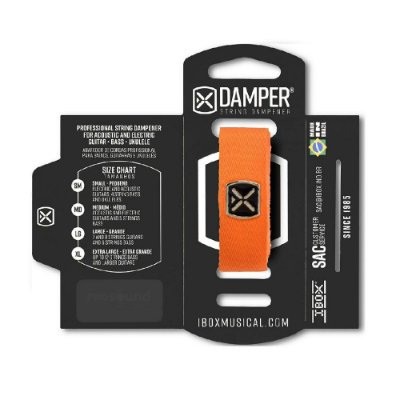 Damper IBOX Poliéster LG Laranja