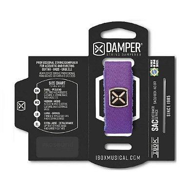 Damper IBOX Poliéster LG Roxo