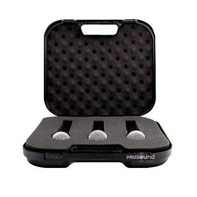 Microfone KADOSH K58A - Kit com 3 peças