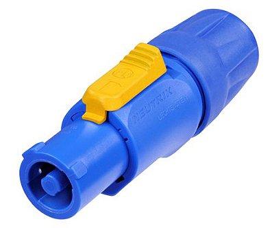 Powercon Linha NAC3FCA NEUTRIK Azul