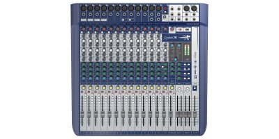Mesa de Som SIGNATURE 16 SOUNDCRAFT