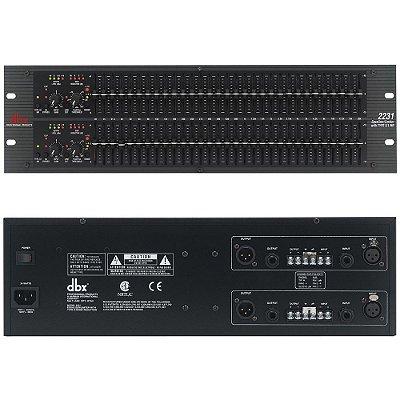 Equalizador de Áudio DBX 2231 V
