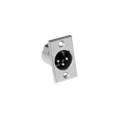 Conector XLR Macho Painel AC3MMP AMPHENOL